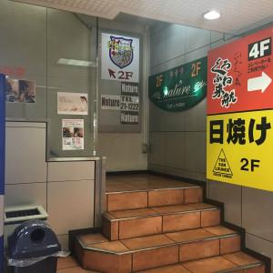 階段を2階へ
