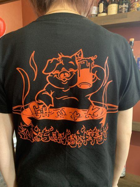 チャンク5周年オリジナルTシャツ入荷🐷