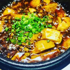 納豆麻婆豆腐😋