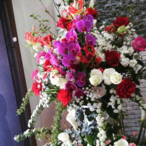 お祝いの生花