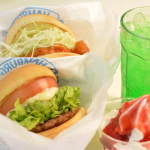 """小名浜""""リスポ""""時代から人気絶大のハンバーガー屋さん˚✧⁎⁺˳✧༚【ハンバーガーれたす】"""
