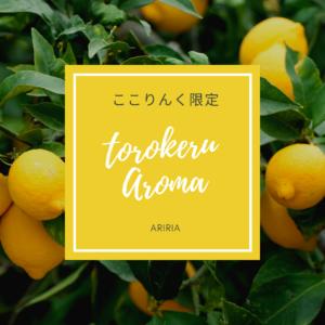 ここりんく限定メニュー【裏メニュー】+【torokeru-aromaBODYトリートメント120分】でお値段そのまま♪