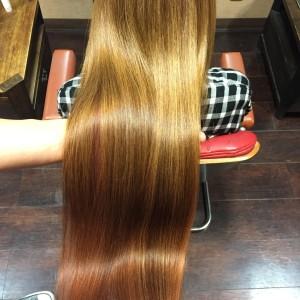 当店イチオシの髪質改善